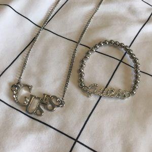 Necklace and bracelet set